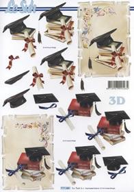 3D Bogen Zeugnis - Format A4