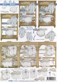 3D Bogen Format A4-Baby