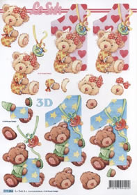 3D Bogen 1 Jahr Format A4