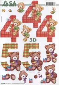3D Bogen 4+5 Jahre Format A4