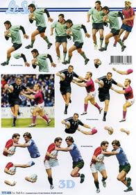3D Bogen - Rugby Format A4