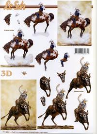 3D Bogen Cowboy´s - Format A4