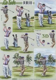 3D Bogen - Golfen Format A4