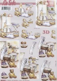 3D Bogen Kinderzimmer - Format A4