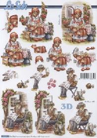 3D Bogen Oma+Opa - Format A4