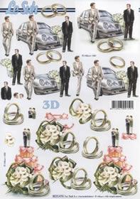 3D Bogen Heiraten  - Format A4