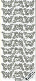 Stickers 0822 - kleine Schmetterlinge - multicolor