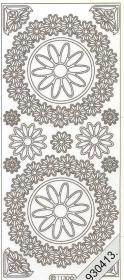 Stickers Figuren / Motive - weiß