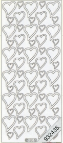 Stickers Figuren / Motive - rot
