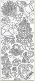 Stickers Figuren / Motive - gold