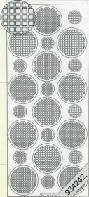 Stickers Mosaik - rosa