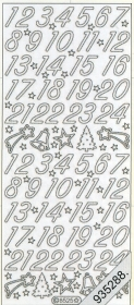Stickers 8525 - gold