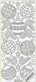 Stickers Figuren / Motive - Weihnachten - weiß