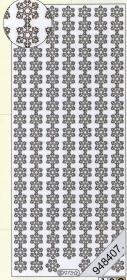 Stickers Bordüren / Linien - weiß