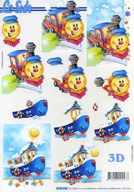 3D Bogen Spielzeug - Format A4