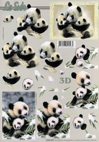3D Bogen Panda - Format A4
