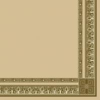 Servietten 33x33 cm - Antique Frame Beige