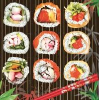 Lunch Servietten Sushi