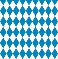 Servietten 33x33 cm - Blue Rhombuses