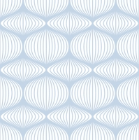 Servietten 33x33 cm - Graphic Stencil Blue & White