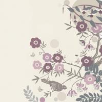 Servietten 33x33 cm - Japanese Cherry Blossom