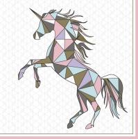 Servietten 33x33 cm - Graphic Wild Unicorn