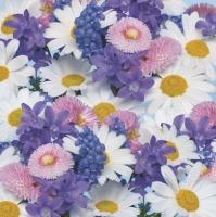 Servietten 33x33 cm - Fresh Spring Flowers Background