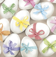 Servietten 33x33 cm - Ribbon Eggs