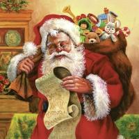 Lunch Servietten Weihnachtsmann