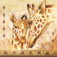 Lunch Servietten Africa-Giraffe