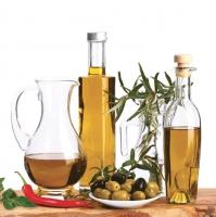 Lunch Servietten Oliven Öl