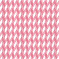 Servietten 33x33 cm - ZigZag Stripes Pink