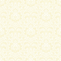 Servietten 33x33 cm - Wallpaper Pattern Cream