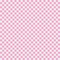 Servietten 33x33 cm - Diagonal Pink Check