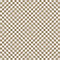 Servietten 33x33 cm - Diagonal Gold Check