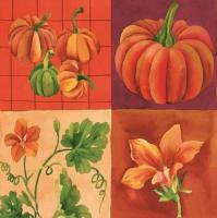Servietten 33x33 cm - Pumpkin Collage