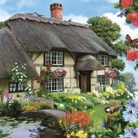 Servietten 33x33 cm - Countryfield Cottage