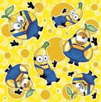 Servietten 33x33 cm - Crazy Fruits Boys