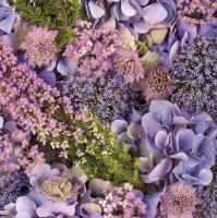 Servietten 33x33 cm - Autumn Purples