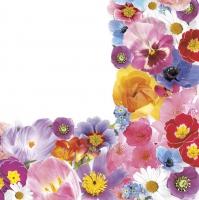 Servietten 33x33 cm - Spring Floral Composition