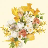 Servietten 33x33 cm - Bunch of Spring Flowers