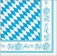 100 Tissue Lunch Servietten - Bayern