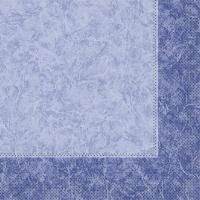 Tissue Servietten 33x33 cm - CRAIG blau