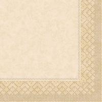 Tissue Servietten 33x33 cm - CRAIG Creme