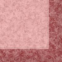 Tissue Servietten 33x33 cm - CRAIG bordeaux