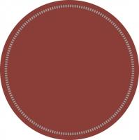 Untersetzer - GRUNDLAGE: BORDEAUX (Rand 37)