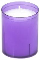 24 Refill Cups lila