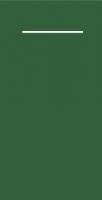 100 Besteckservietten dunkelgrün