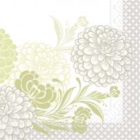 Tissue Servietten 40x40 cm - Clarissa  (grün)