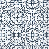 100 Tissue Lunch Servietten - Claudio (dunkelblau)